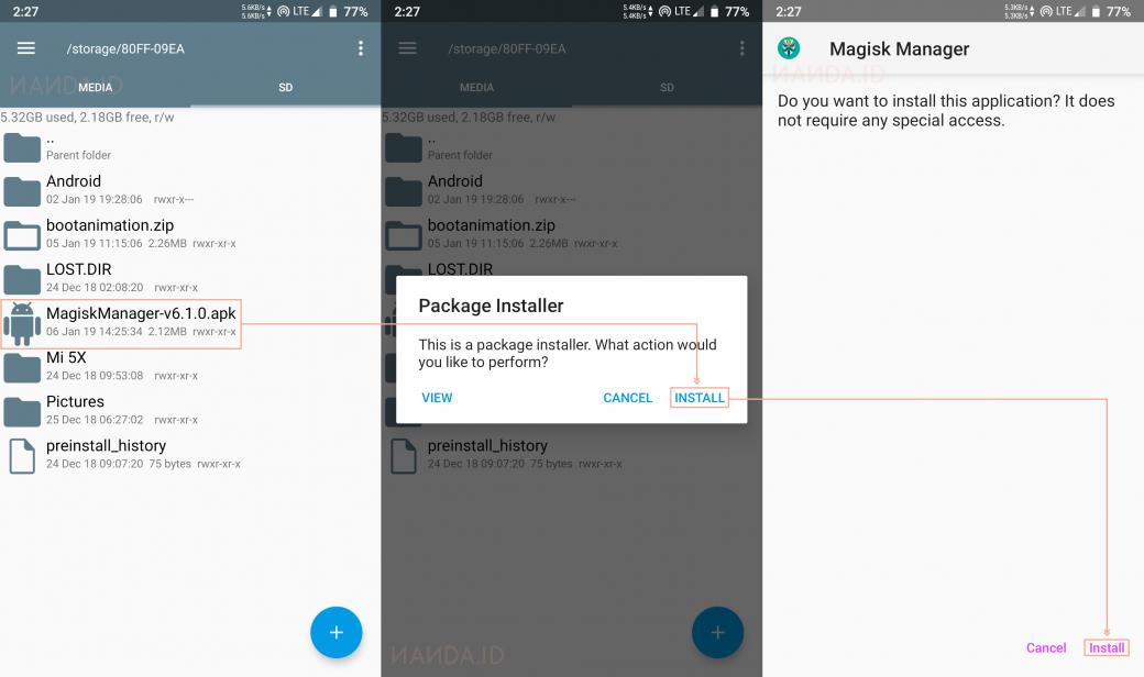 Cara Root Smartphone Android Menggunakan Magisk