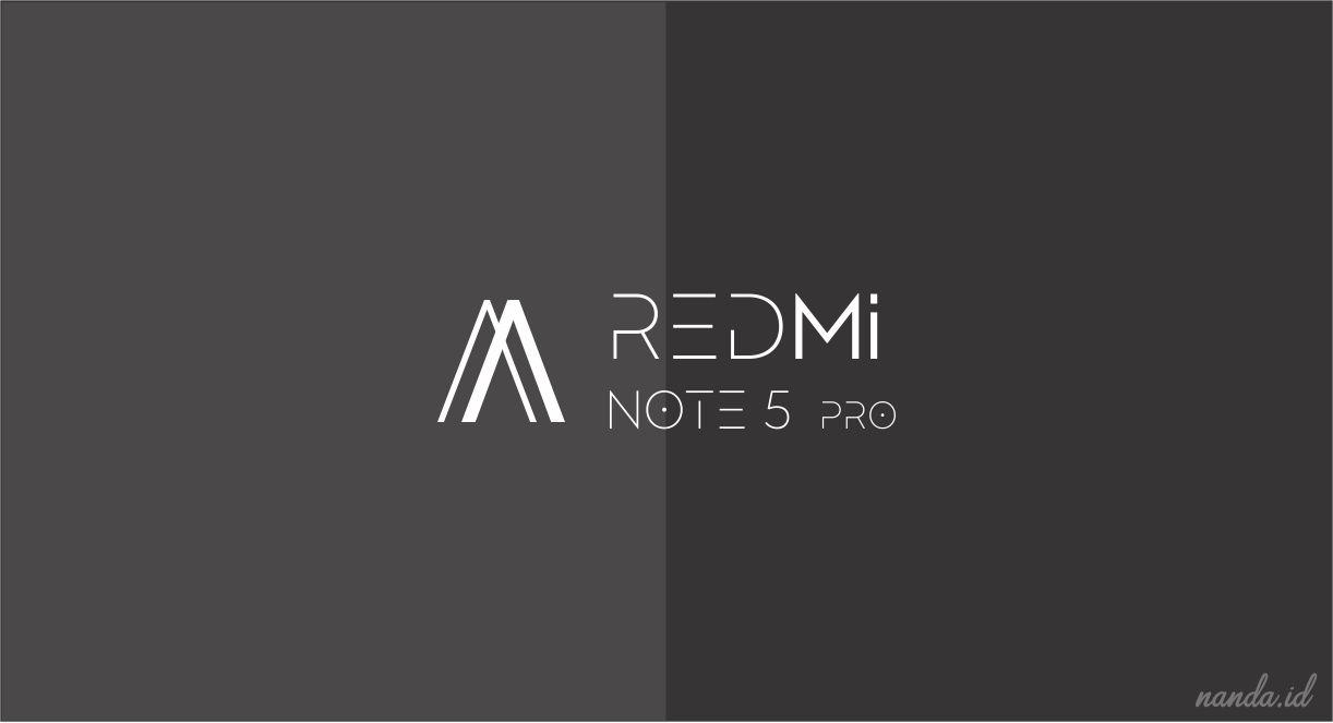 Watermark Simpel Untuk Xiaomi Redmi Note 5 Pro