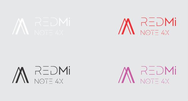 Watermark Simpel Berwarna Untuk Xiaomi Redmi Note 4X