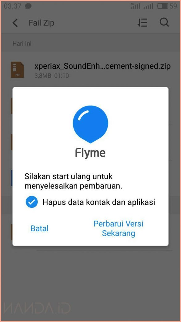 Tutorial Upgrade Dan Downgrade Flyme OS Meizu