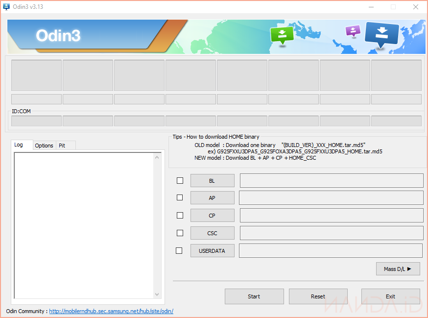Download Odin3 v3.13.3
