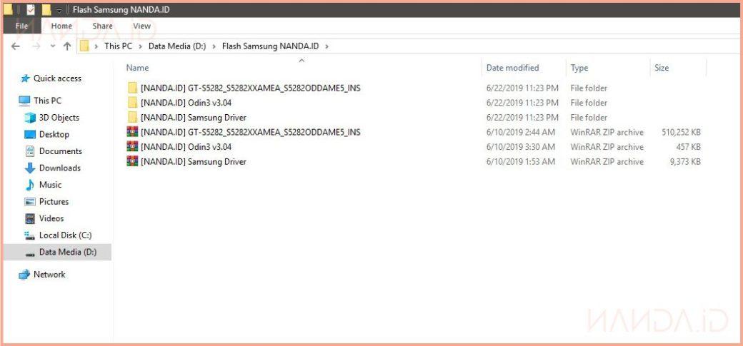 Tutorial Install / Flash Samsung Galaxy One Pack Firmware