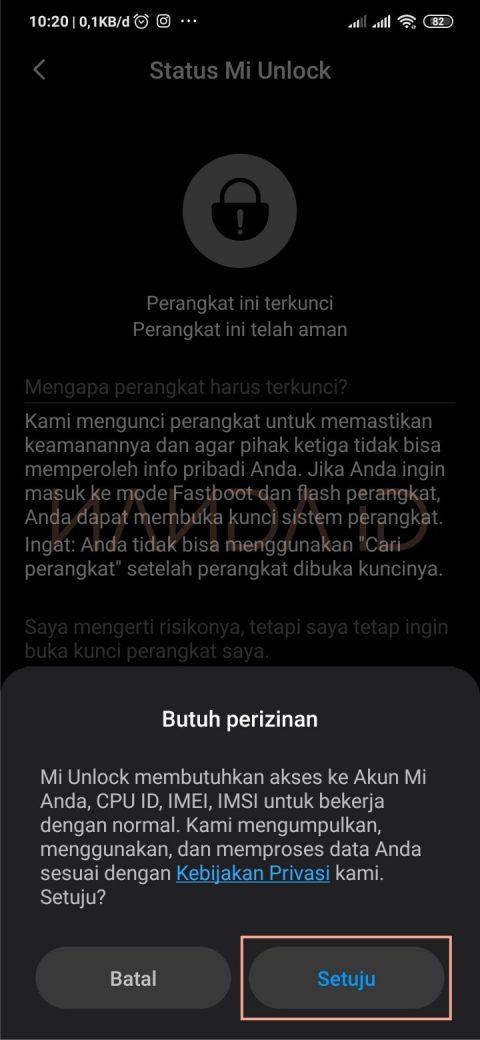 Unlock Bootloader (UBL) Redmi Note 8 Pro (Begonia)
